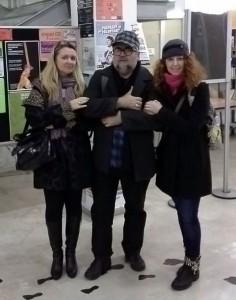 con Joan Ignasi y Nuria Segon, bcn